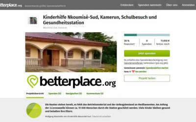 Besuchen Sie Nkoumisé-Sud, Kamerun auf betterplace.org